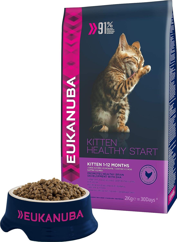 Eukanuba Dry Kitten Food Chicken Liver 2 Kg Amazon Co Uk Pet Supplies