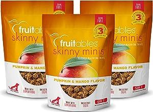Fruitables Skinny 5 Ounce Minis Pumpkin & Mango Soft & Chewy Dog Treats