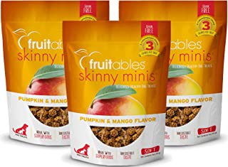 product image for Fruitables Skinny 5 Ounce Minis Pumpkin & Mango Soft & Chewy Dog Treats
