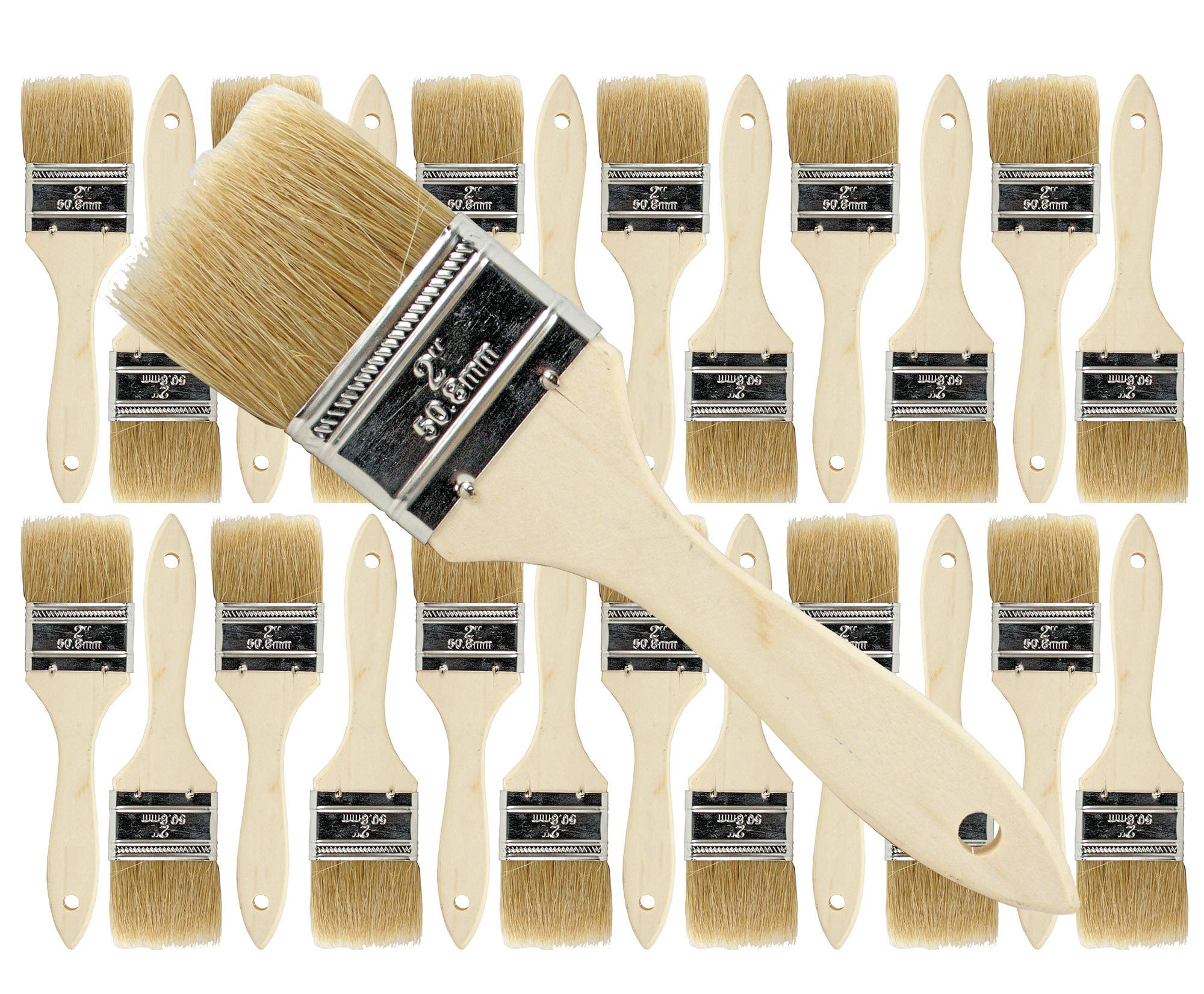 Pro Grade - Chip Paint Brushes - 24 Ea 2 Inch Chip Paint Brush by Pro Grade