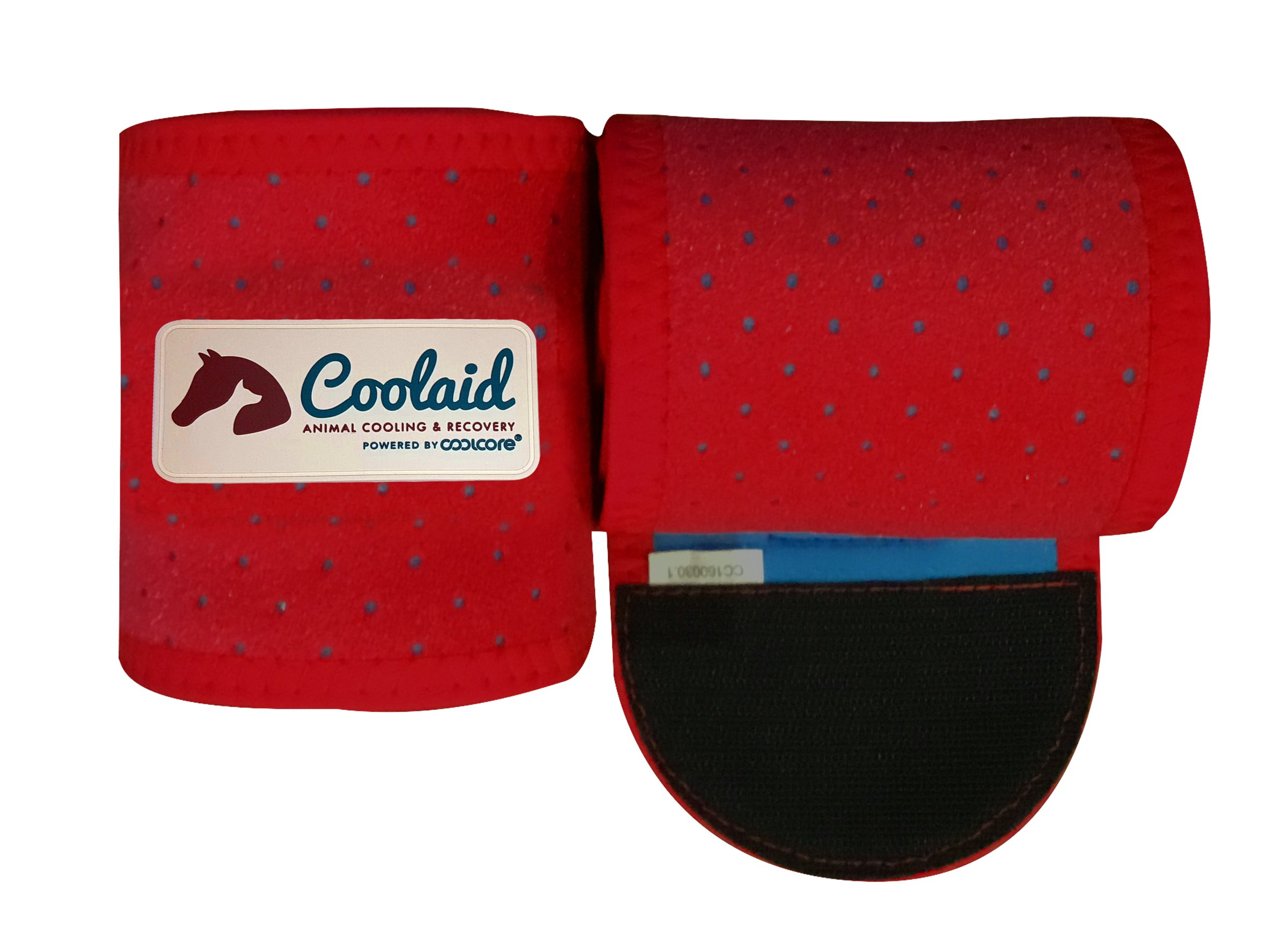 Coolaid Equine Premium Icing and Cooling Leg Wraps For Horses by Coolaid