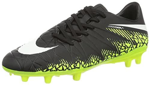newest 621e8 1f66d NIKE New Mens Hypervenom Phelon II Soccer Cleat BlackVolt 8