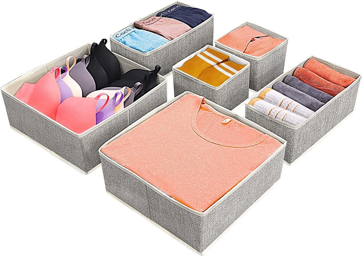 Underwear Drawer Organizers Max 50% OFF Clothes Foldable Organize Bra Free shipping / New Closet