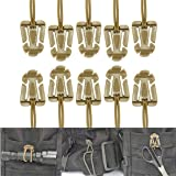 Sweetfun Tactical Gear Clip Molle Web Dominators for Outdoor Hydration Tube Backpack Straps Management