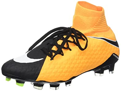 check out 06d80 7329e Nike Hypervenom Phatal Iii Dynamic Fit (Fg), Chaussures de Football Homme,  Orange (Laser Orange/White-Black-Vert Volt-White), 45.5 EU: Amazon.fr:  Chaussures ...