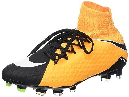 huge discount c8ec6 87e43 Nike Hypervenom Phatal Iii Dynamic Fit (Fg), Botas de Fútbol para Hombre,  Naranja (Laser Orange/White/Black/Volt/White), 45.5 EU: Amazon.es: Zapatos  y ...