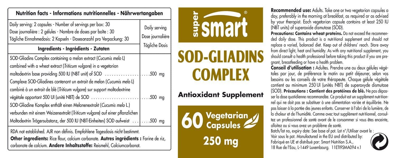 Supersmart MrSmart - antioxidantes - SOD-Gliadins Complex ...