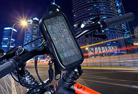 Soporte movil moto bici bicicleta funda impermeable para teléfonos ...