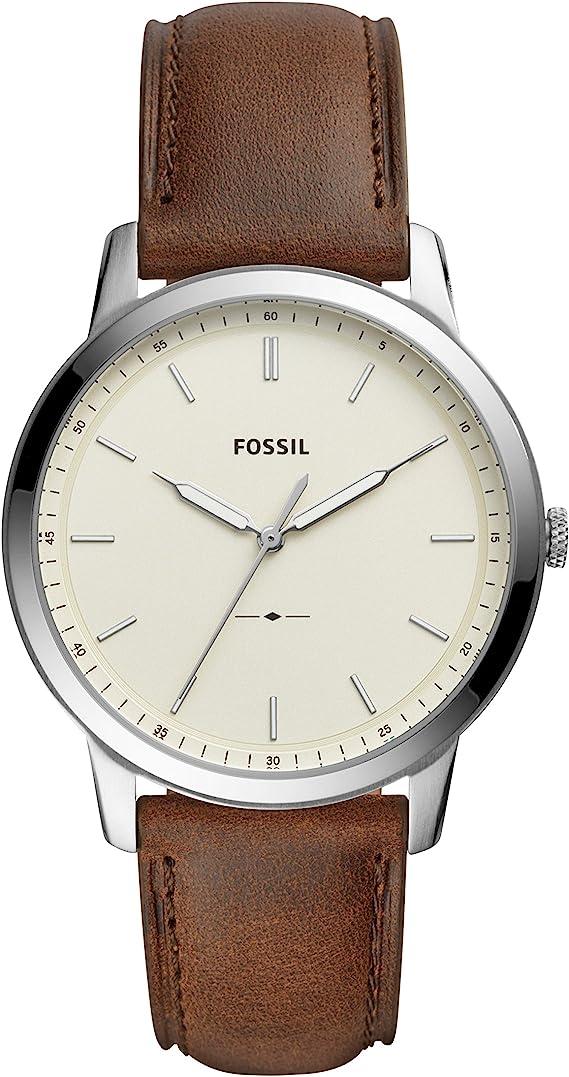 Fossil Men's the Minimalist Stainless Steel Slim Watch