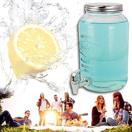 (658) – Dispensador de bebidas Depósito Cristal dispensador de zumo 3,5liter grifo