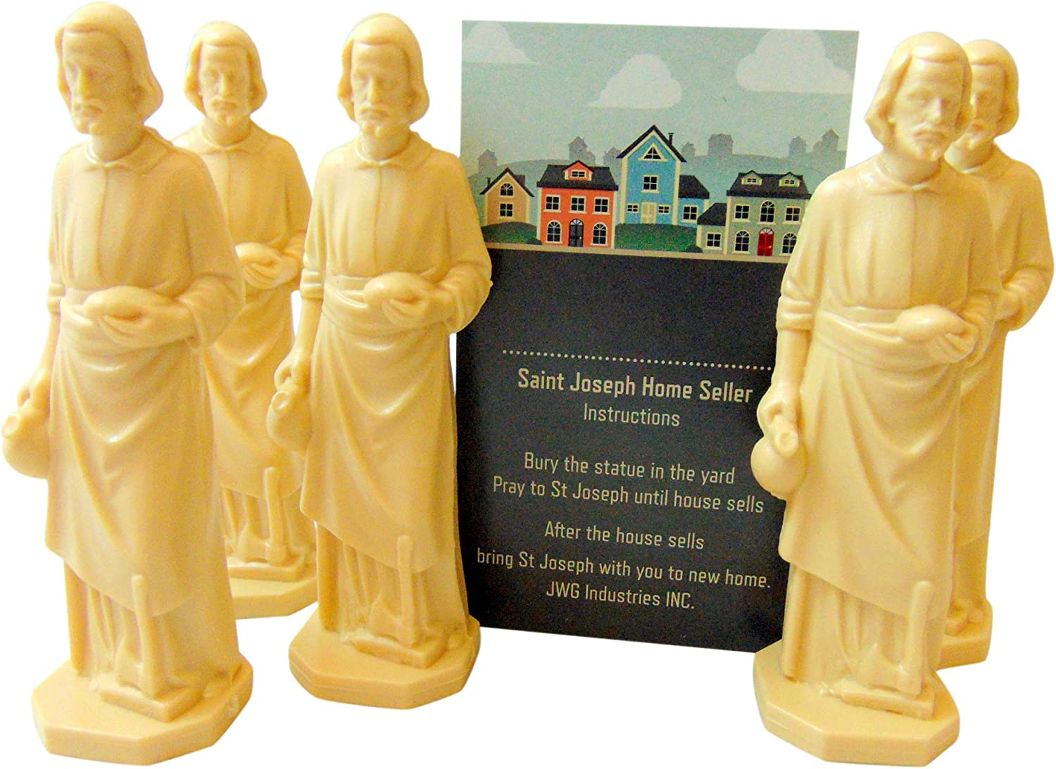 JWG Industries Saint Joseph Home Seller Kit Set of 5 Realtor Bulk Lot Set