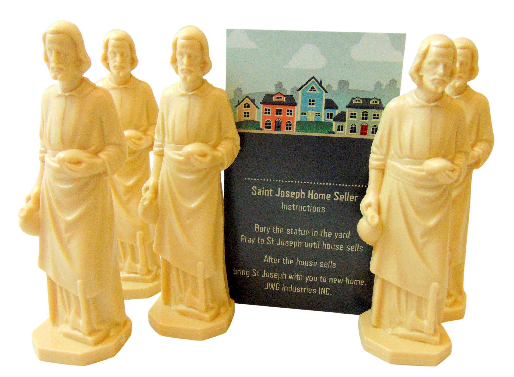 JWG Industries Saint Joseph Home Seller Kit Set of 5 Realtor Bulk Lot Set by JWG Industries