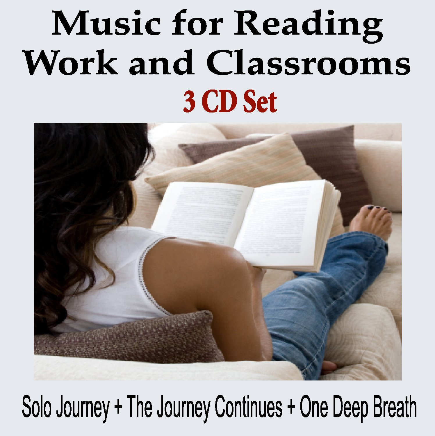 Music To Read By - 3 CD SET: Study Music, Music For Work or Music for the Classroom