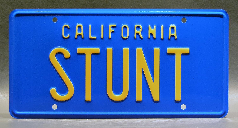 Stunt Metal Stamped License Plates 118 BRX Celebrity Machines Hooper