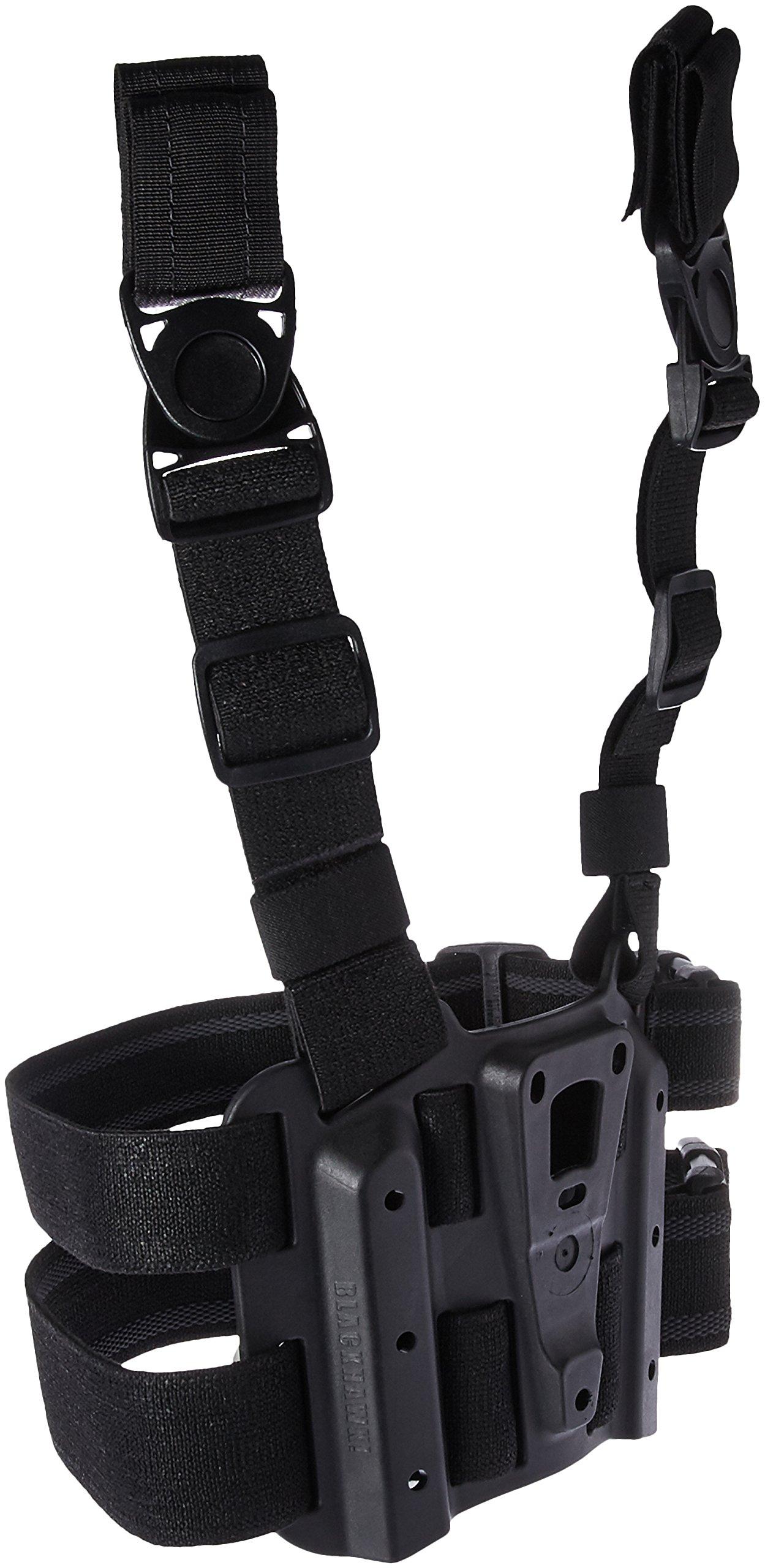 BLACKHAWK! 432000PBK Tactical Holster Platform, Black