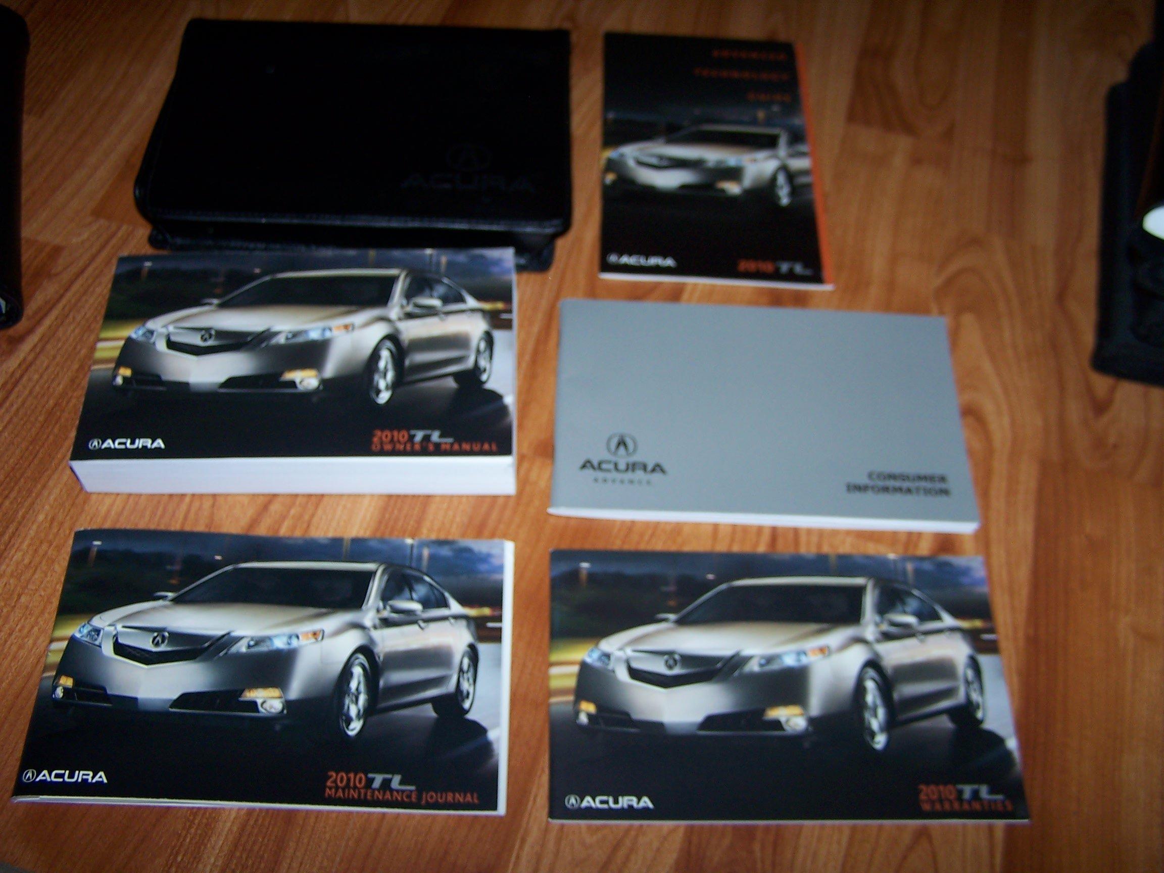 manual acura tl 2010