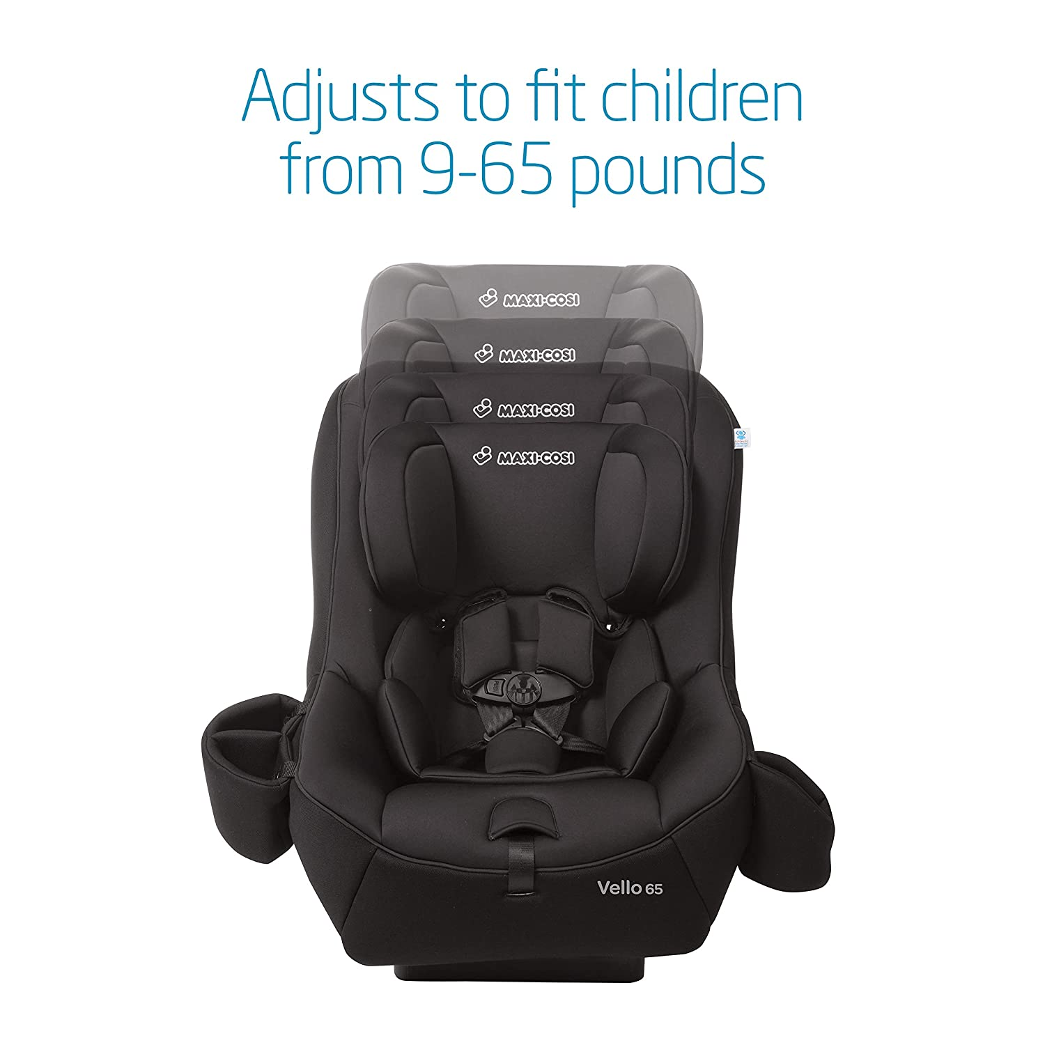 Amazon Maxi Cosi Vello 65 Convertible Car Seat Black Baby