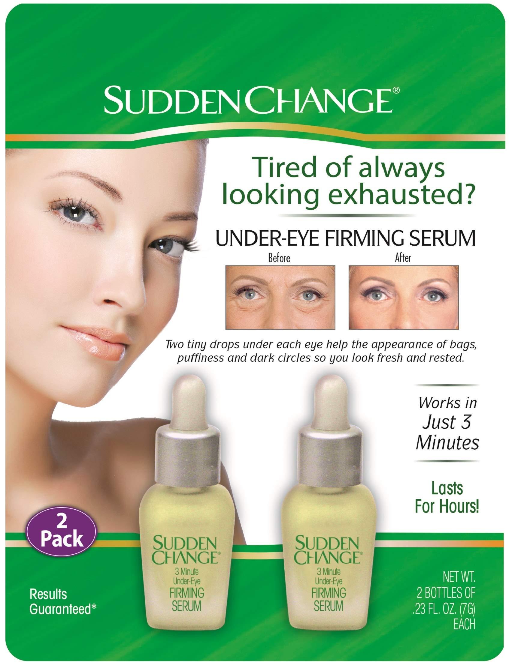 Sudden Change Under-Eye Firming Serum, 0.23 Ounce by Sudden Change