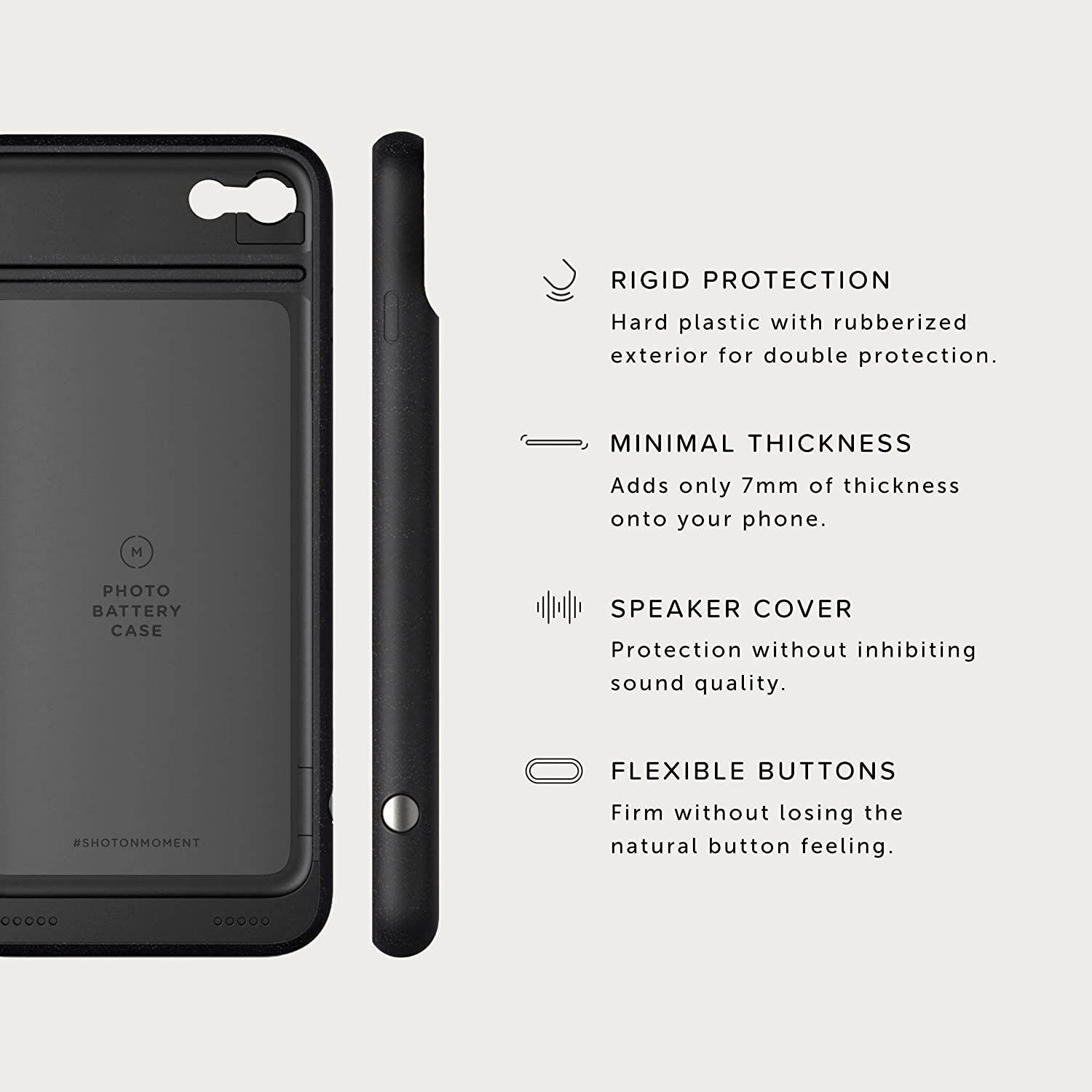 check out 1971b 57ada Moment - Pro Photography Case - iPhone 8 and iPhone 7 - Protect, Charge,  and take Better Pictures.