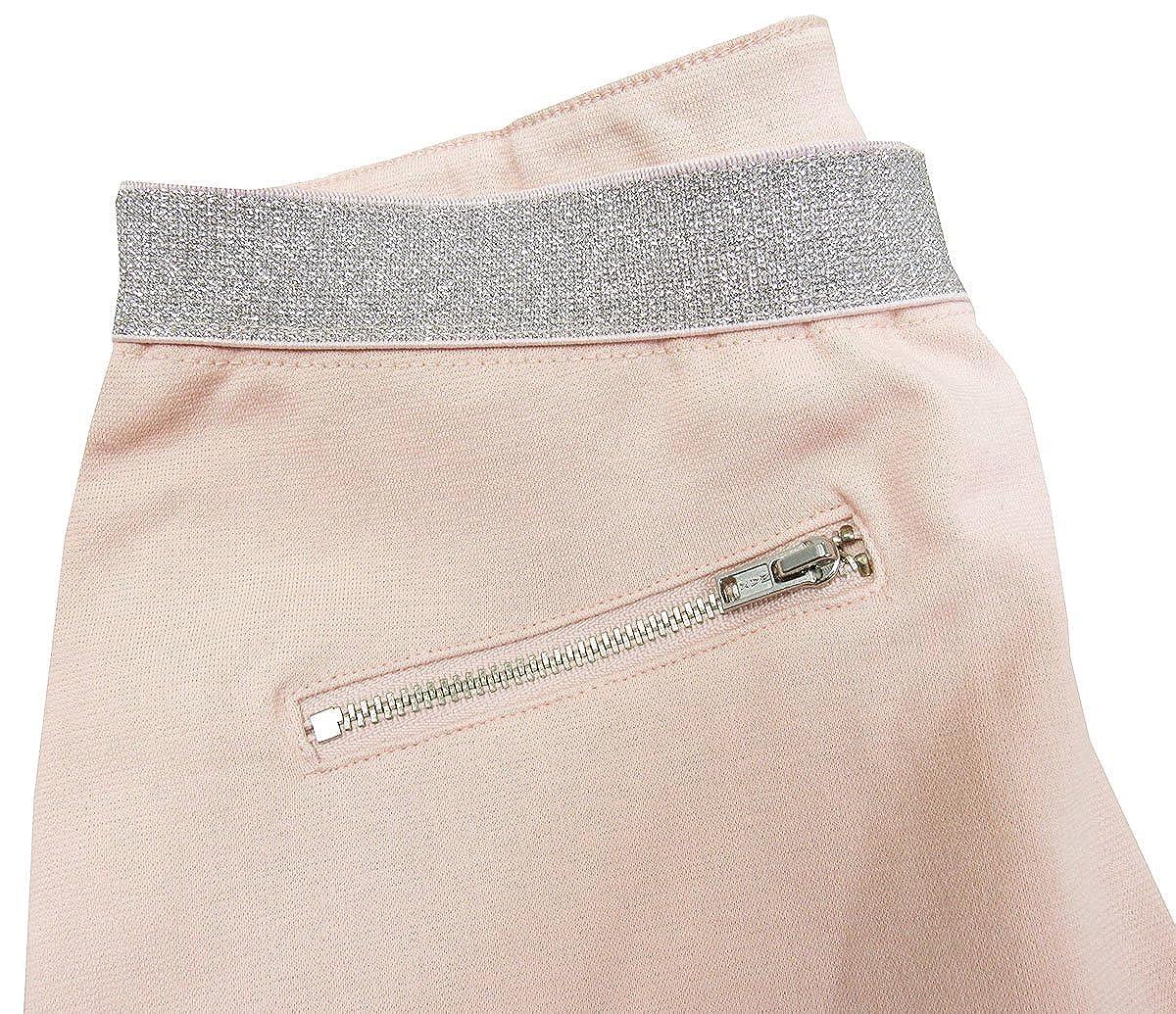 7-16 Metallic Waistband Ponte Knit Pants X-Large Epic Threads Big Girls