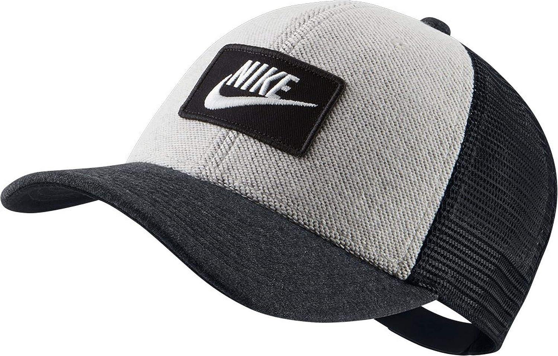 Nike U NSW Clc99 Cap Ft Trucker Hat, Unisex Adulto, Black (03b ...