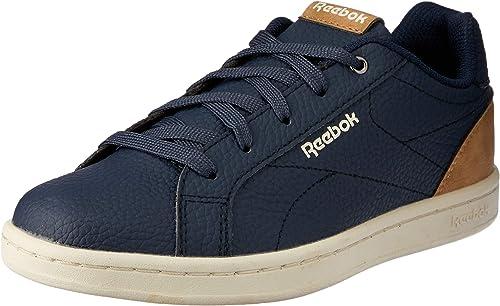 Reebok Royal Complete CLN, Chaussures de Tennis Fille, Multicolore (OutdoorCollegiate NavyGunmetalClassic 000), 35 EU