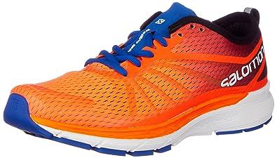 cb68d30da968 Salomon Men s Sonic Ra Pro Trail Running Shoes Blue  Amazon.co.uk ...