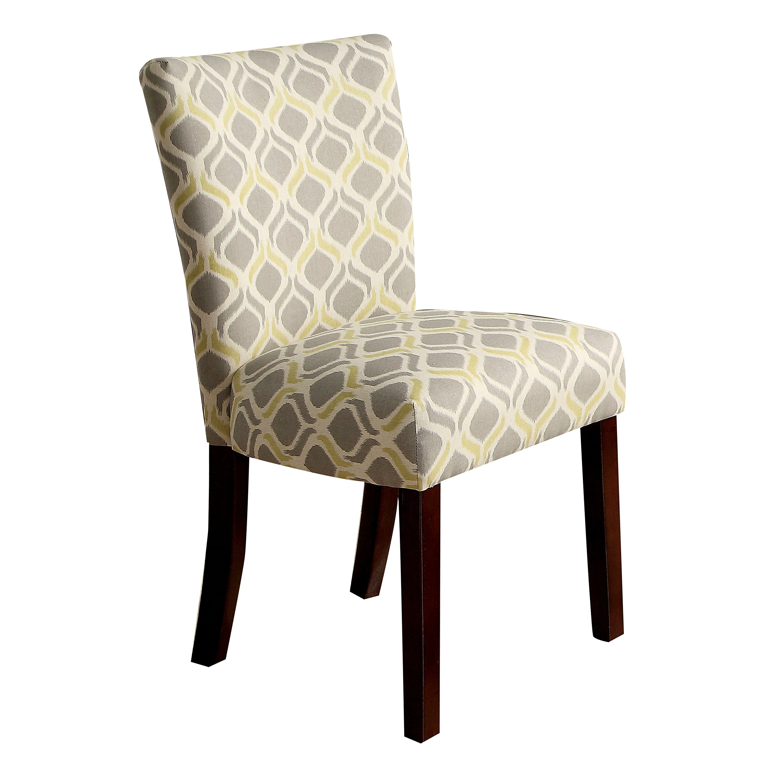 247SHOPATHOME IDF-3507Y-SC Dining-Chairs, Yellow by 247SHOPATHOME
