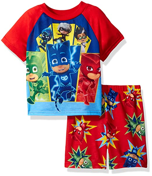 PJ Masks Toddler Boysu0027 Pj Masks 2 Piece Pajama Set, Red, ...