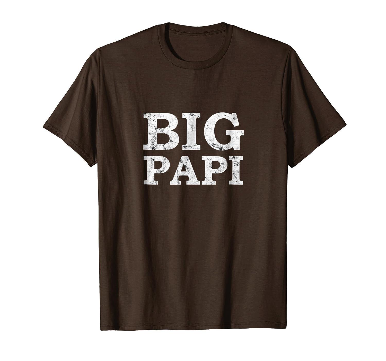 Mens Big Papi T Shirt Gift for Dad 2018-Teechatpro