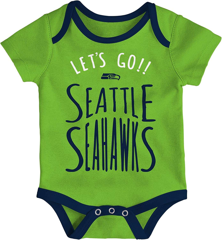 Outerstuff NFL Unisex-Baby Newborn /& Infant Little Tailgater Bodysuit Set