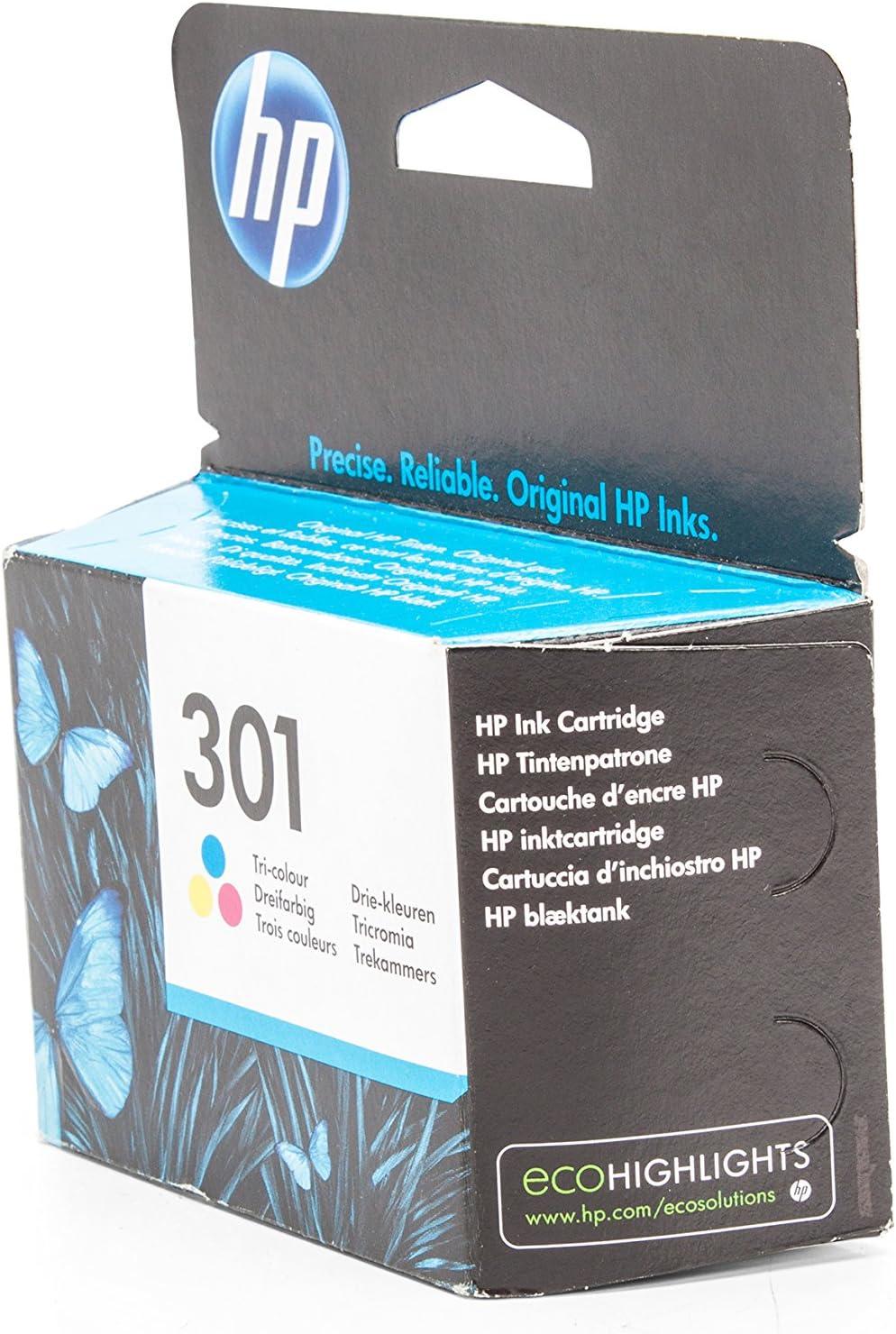 Original Tinte Hp 301 Ch562ee 1 Tinten Patrone Cyan Magenta Gelb 165 Seiten 3 Ml Bürobedarf Schreibwaren