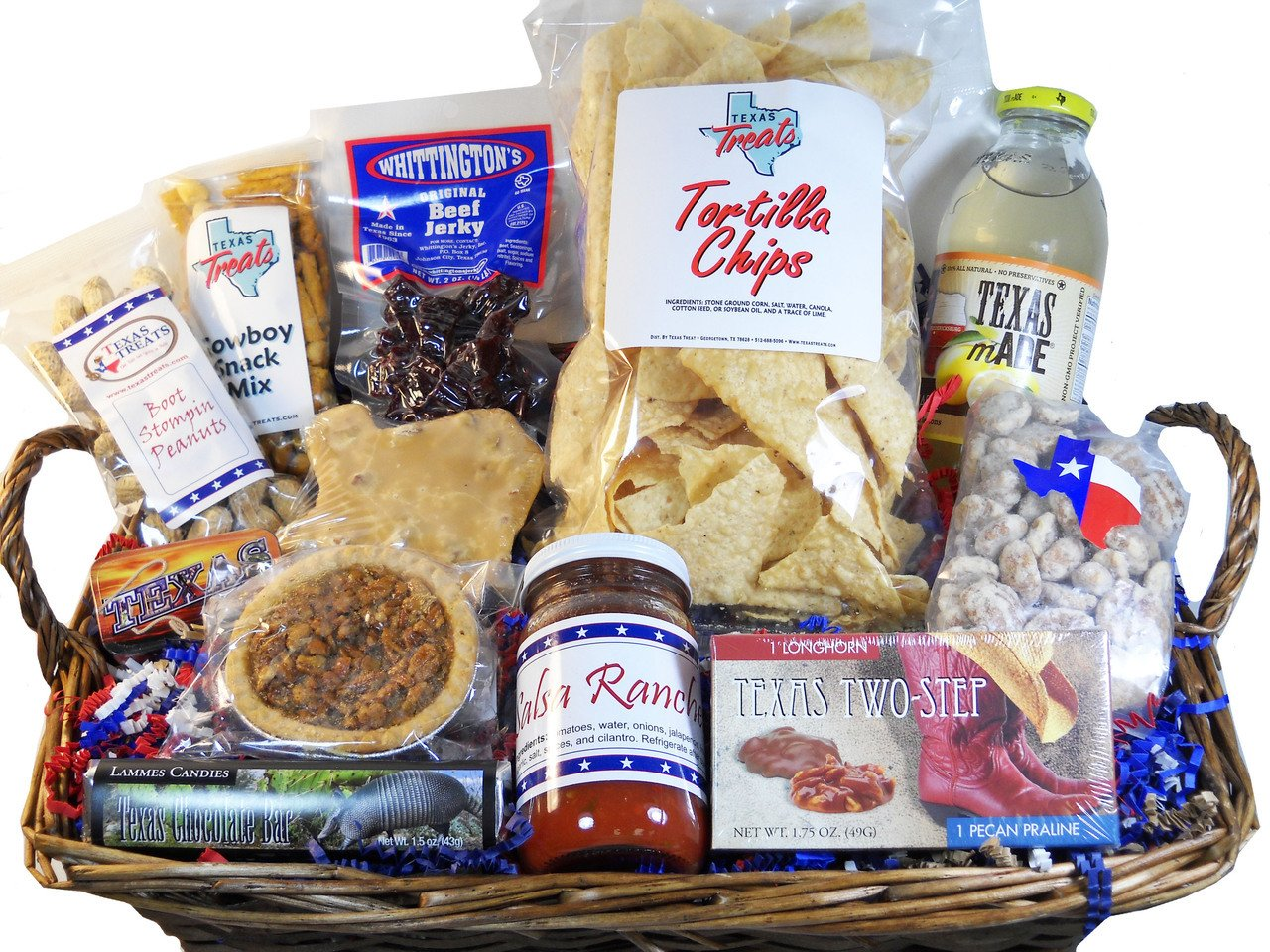 Little Bit of Texas Tray Gift Basket