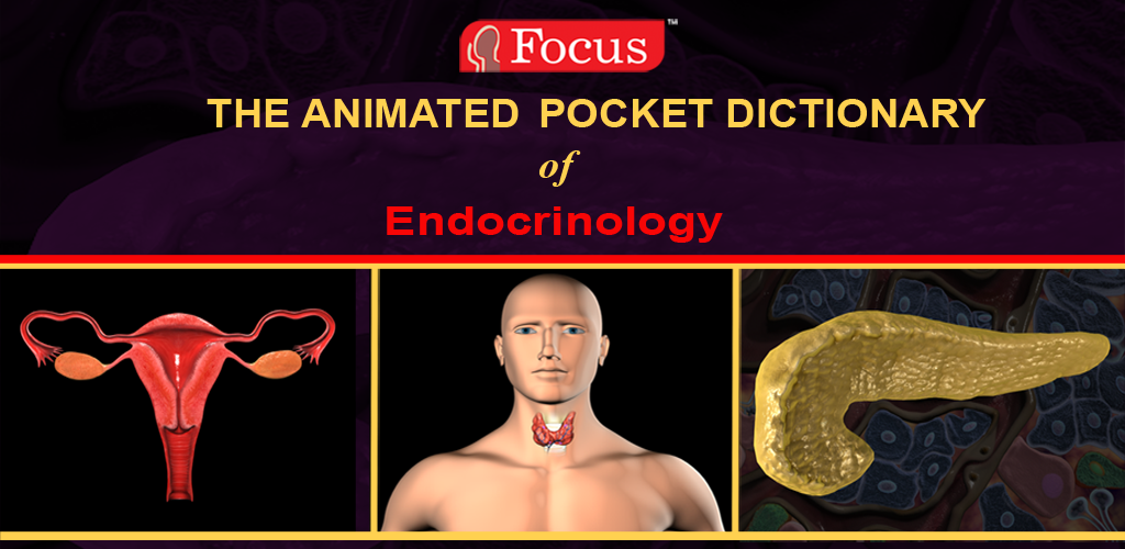 Animated Pocket Dictionary of Endocrinology (Kindle Tablet Edition)