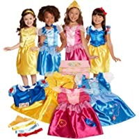 Disney Princess Dress Up Trunk Deluxe 21-Piece [Amazon Exclusive]