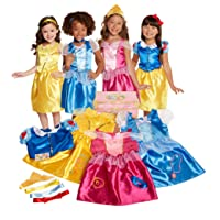 Disney Princess Dress Up Trunk Deluxe 21 Piece [Amazon Exclusive]