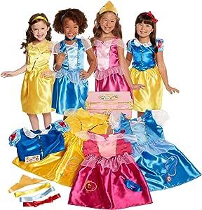 Disney Princess Dress Up Trunk Deluxe 21-Piece [Amazon Exclusive]