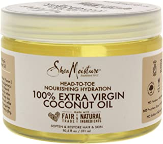 product image for Shea Moisture 100% Extra Virgin Coconut Oil Head-to-Toe Nourishing Hydration for Unisex, 10.5 Ounce