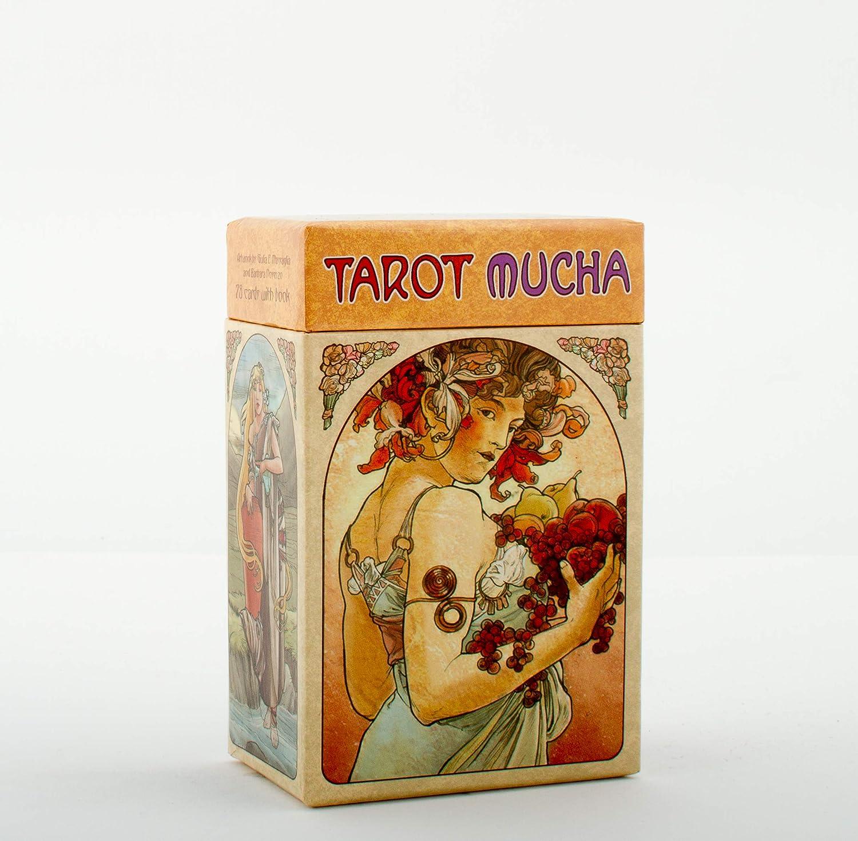 Tarotkarten Mucha inklusive Buch Piatnik 273067 78 Blatt