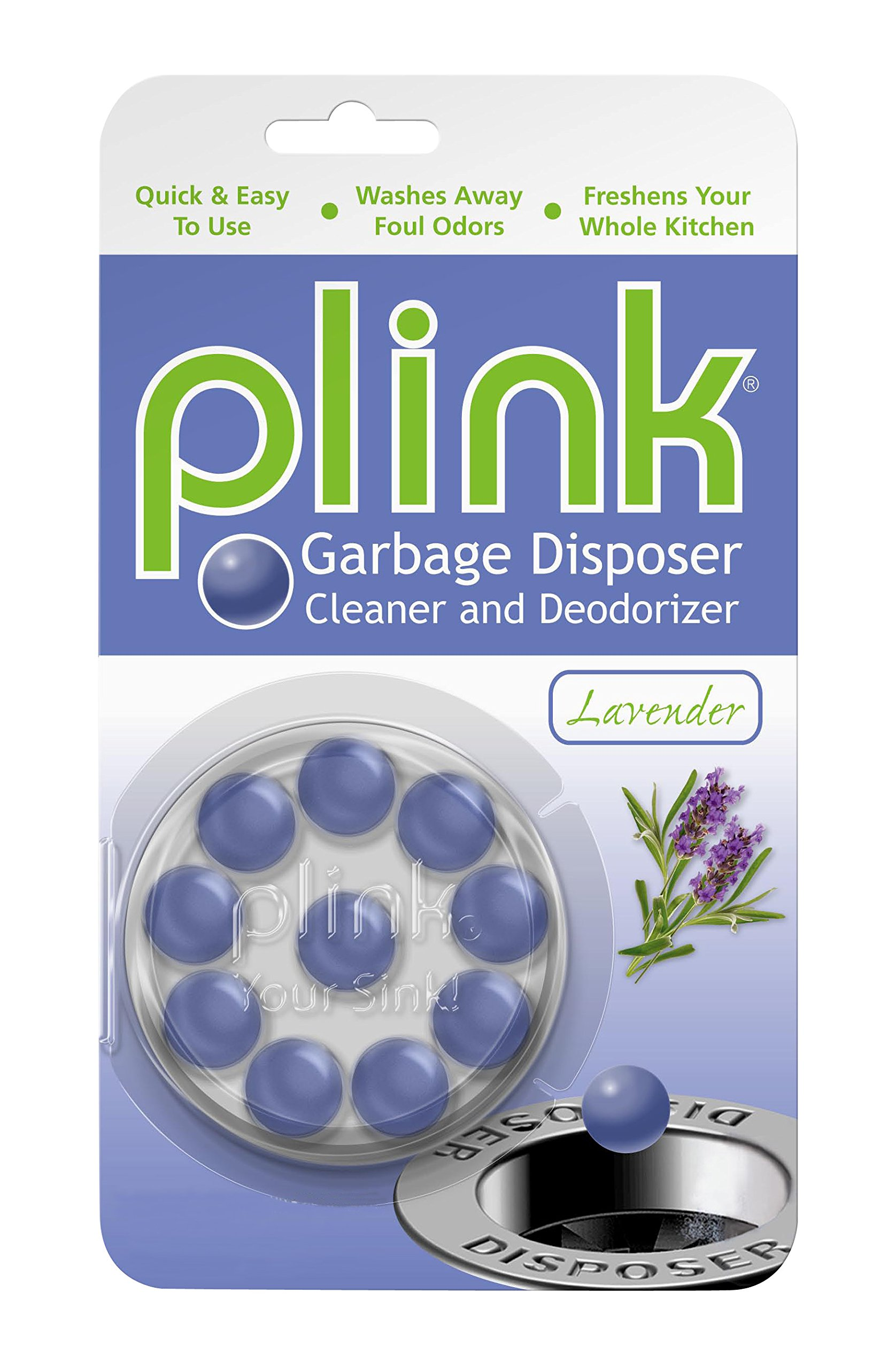 Summit Brands Plink Garbage Disposal Cleaner and Deodorizer, Multi Scent Pack of 3, Value Pack, 30 Cleanings by Summit Brands (Image #4)