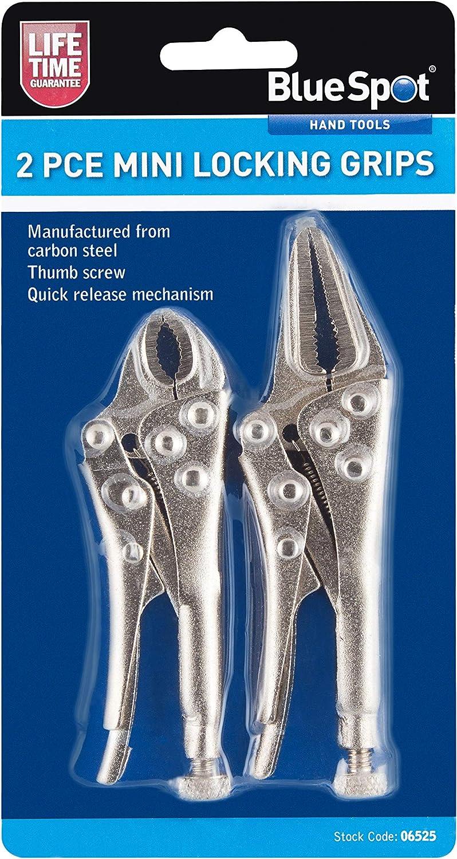 Faroh LGW3 Locking Grip Wrench Set Chrome Set of 3 Pieces 3 pcs