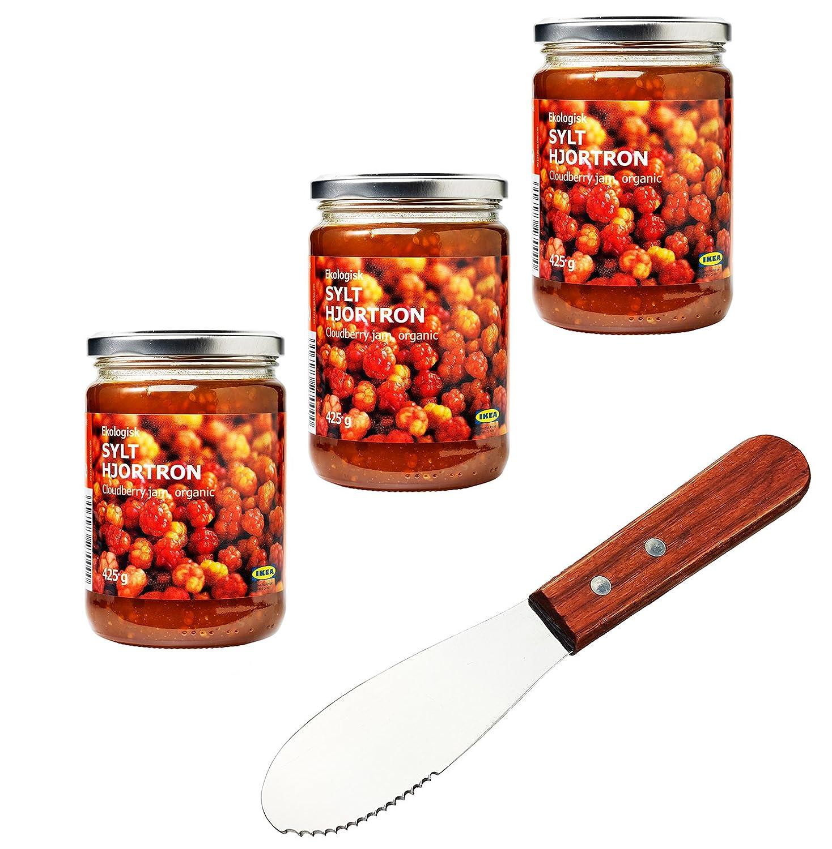 IKEA Sylt Hjortron Cloudberry - Juego de cuchillos de cocina ...