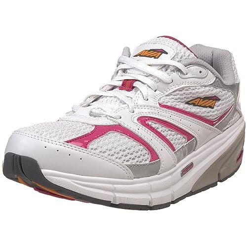 Avia A9999W - Zapatillas de Deporte para Mujer, Color Blanco, Talla 41.5: Amazon.es: Zapatos y complementos