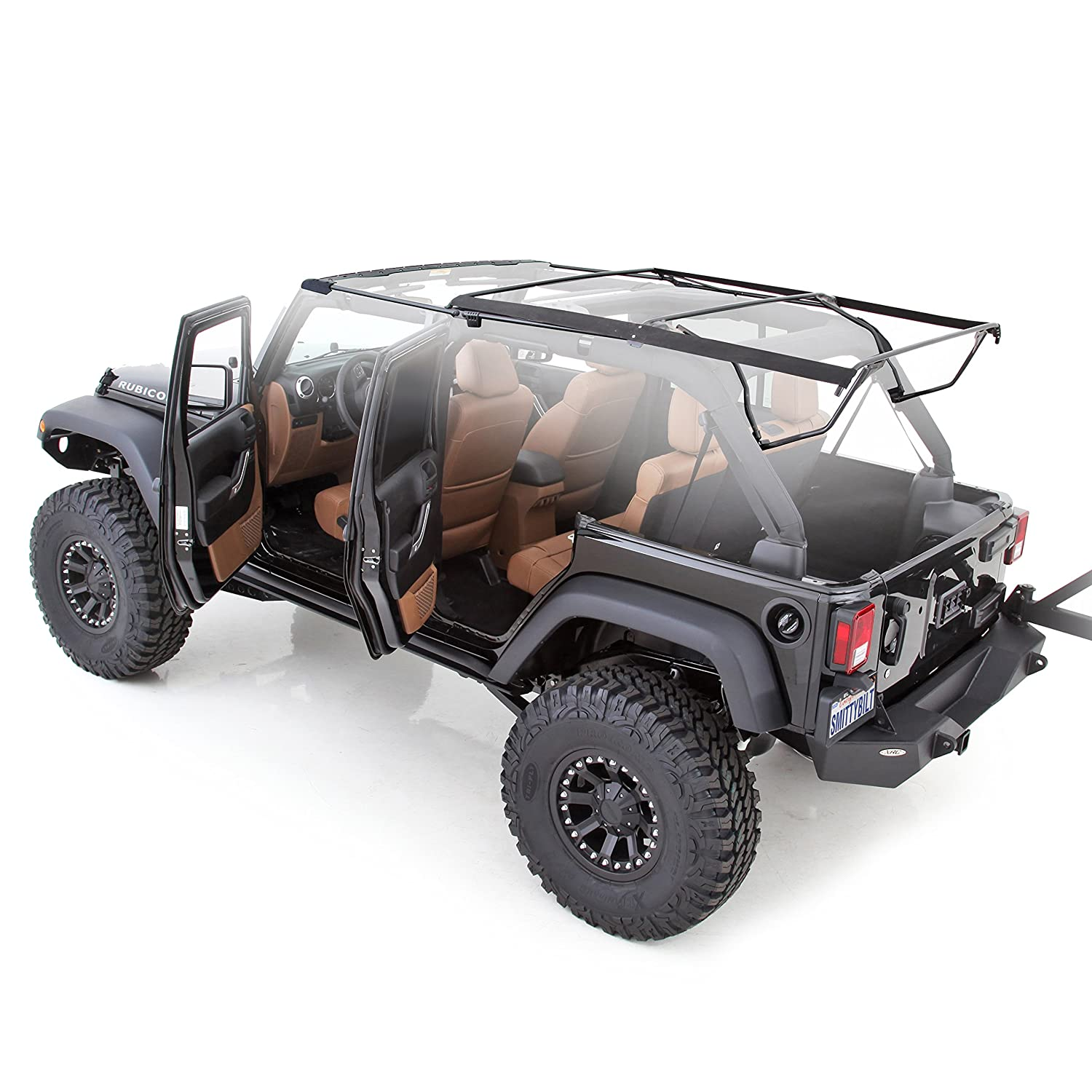 Jeep Wrangler Tops >> Amazon Com Smittybilt 91306 Oe Style Bow Assembly For Soft Tops