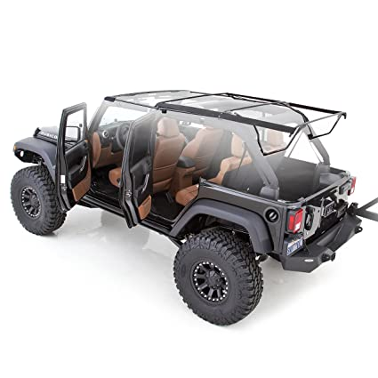 Smittybilt 91306 OE_Style Bow Assembly For Soft Tops, For 2007 2018 Jeep  Wrangler JK