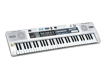 Amazon.com: Plixio 61 Key Mid-Size Electric Piano Keyboard with ...