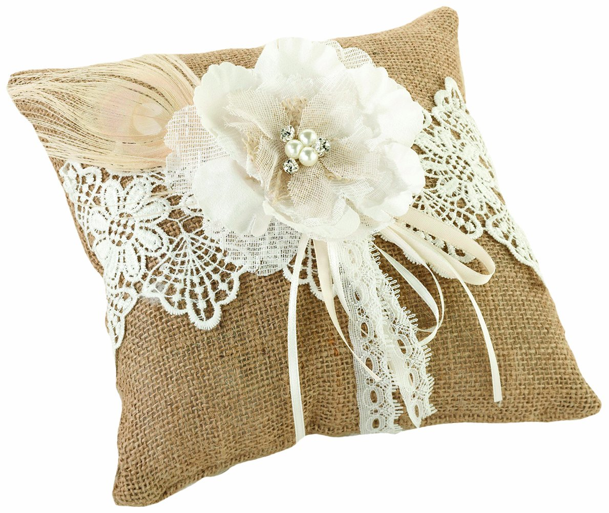 ring specifications pillow products bearer diamante heart white of cushion wedding double