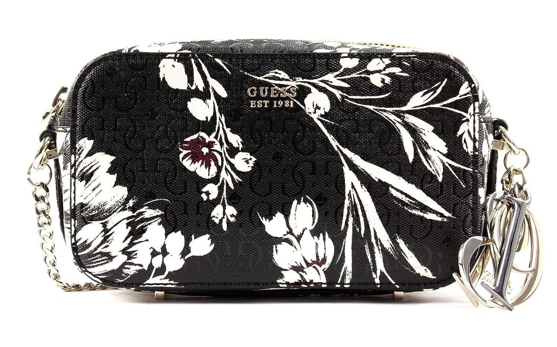 GUESS Tamra Crossbody Camera Black Floral: Amazon.co.uk