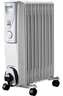 7ce0ddad74e Daewoo Oil Filled 2000W Portable Radiator with Thermostat and Temperature  Control - Ideal for Home