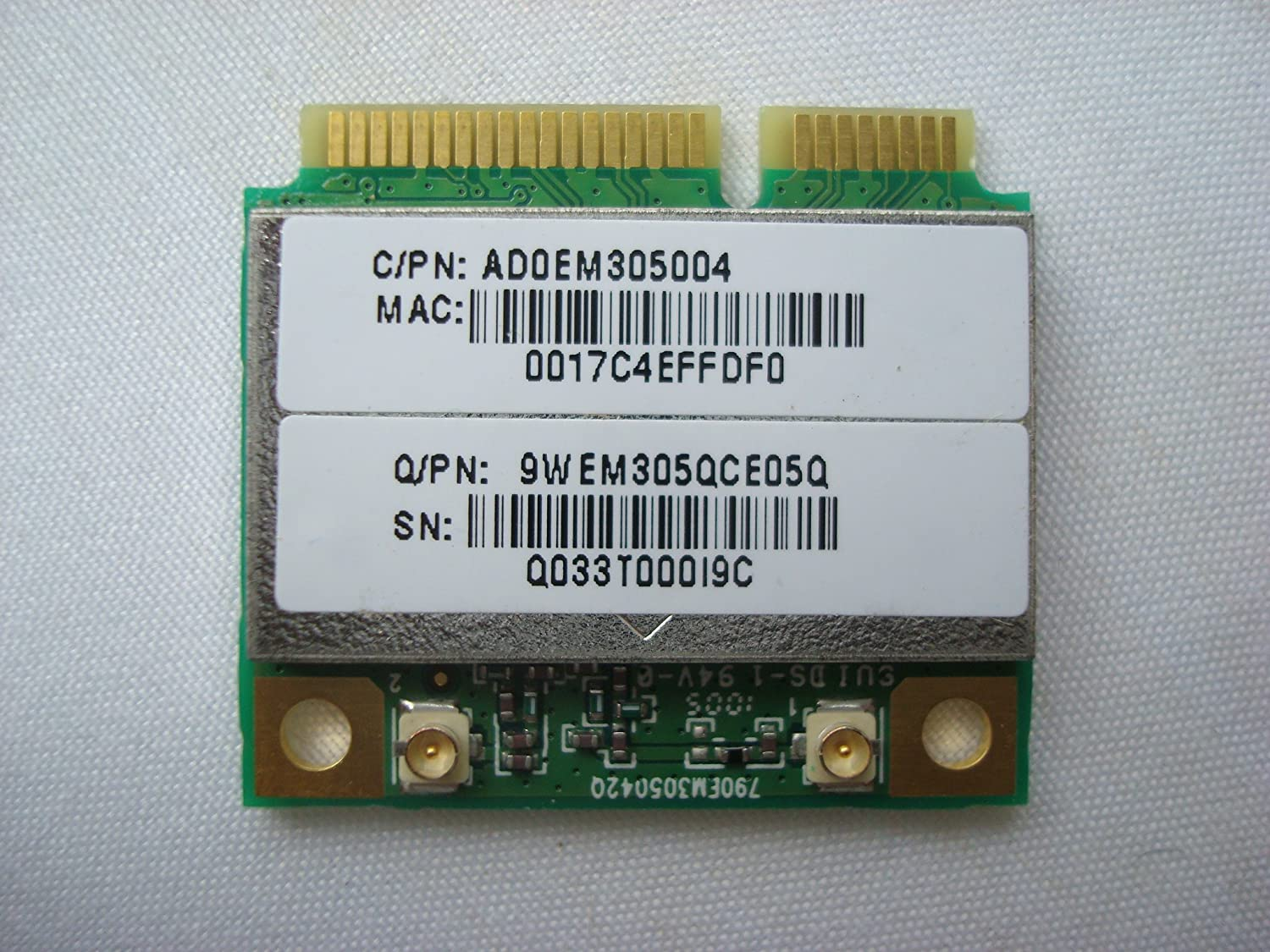 ATHEROS AR5001X MINI PCI DRIVERS WINDOWS 7
